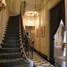 Traditional Staircase by ASI Interiors, Inc.