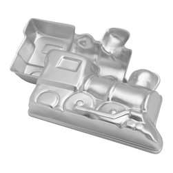 Wilton - Novelty Cake Pan-Choo Choo Train - WILTON-Novelty Cake Pan. Celebrate birthdays and special occasions with a fun shaped cake! Wilton is the leader in cake decorating tools and their bakeware is the choice of serious bakers.