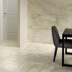Tile & Natural Stone Products We Carry - CEN Mountains in Everest - Available in 3x6 - 6x6 - 10x10 - 13x13 - 10x20 - 20x20 - Coordinating 2x2 Mosaic & various trim pieces.