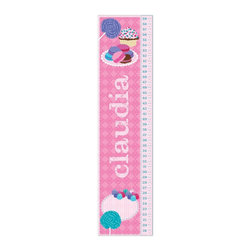 KidKraft - Sweets Growth Chart, MDF by Kidkraft - Can be personalized with any name up to 9 characters in length. All lower case letters. It's so easy to measure your child's height. Ruler is marked at half inch increments, from 19' to 59'.