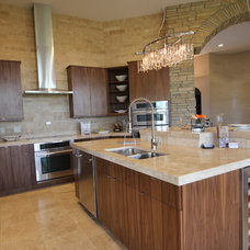 Contemporary Kitchen by Jerry Bussanmas