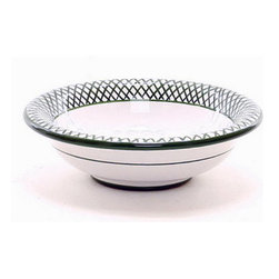 Artistica - Hand Made in Italy - GIARDINO: Cereal Bowl - GIARDINO Collection: The Giardino (Garden) collection, is an exclusive product from Deruta of Italy.