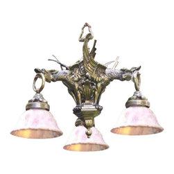 EuroLux Home - New 24-Inch Pendant Ceiling Light Bronze - Product Details