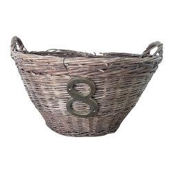 French Harvest Basket - Vintage French Harvest Basket. Great decor piece.