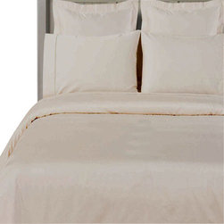"Bed Linens - 100% Bamboo Duvet cover Set  "" Silky Super Soft Covers"" Full-Queen White - Wrap your self in the softness of the luxurious 100% silky bamboo duvet covers like those found in royalty homes. You won't be able to go back to cotton covers after trying these 100% bamboo. Amazingly soft similar to cashmere of silk. 60% more absorbent than cotton. Sustainable, fast growth rate over 1 meter per day. Requires significantly less pesticides than cotton and is naturally irrigated. Natural anti-bacterial and deodorizing properties."