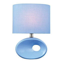 Lite Source - Lite Source LS-22315 Hennessy II 1 Light Table Lamp - Features: