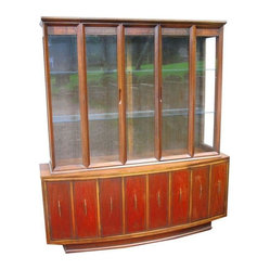Mid-Century Modern China Cabinet Circa 1948-52 - Just Reduced.....Mid-Century charm to the max ...