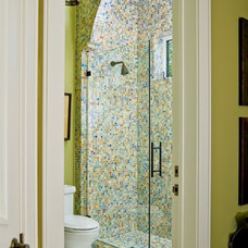 eclectic bathroom tile by Palmer Todd