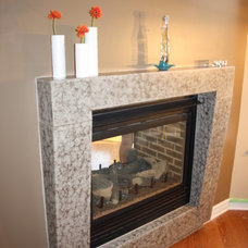 Contemporary Fireplaces by LPCLS