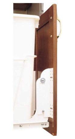 "Rev-A-Shelf - Rev-A-Shelf RV DM KIT Heavy Duty Door Mount Kit for RV Series - White - The White Heavy Duty Door Mount Kit for RV Series includes a complete set of brackets, fasteners and spacers for installation on any door style, eliminating the need for a sub door panel. All RV Series Waste Containers and HPRV/HRV Hampers can be attached to the cabinet door for an easy one-step process with this Heavy-Duty Door Mount Kit. This Rev-A-Shelf RV DM KIT system is considered the best in the industry with a six-way adjustable door mounting bracket for easy installation and simple job site adjustments. Size Specifications: 1-1/2"" W x 2-1/8"" D x 8"" H."