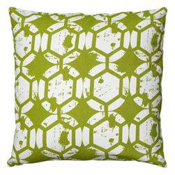 """Rizzy - Rizzy T06082 Pillow, 20"""" x 20"""" - Pillow with Hidden Zipper"""