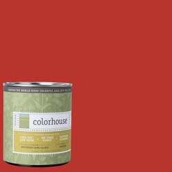 Inspired Semi-Gloss Interior Paint, Create .04, Quart - Colorhouse paints are zero VOC, low-odor, Green Wise Gold certified and have superior coverage and durability. Our artist-crafted colors are designed to be easy backdrops for living. Colorhouse paints are 100% acrylic with no VOCs (volatile organic compounds), no toxic fumes/HAPs-free, no reproductive toxins, and no chemical solvents.