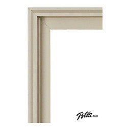 EnduraClad® Exterior Finish in Tan - Available on Pella Architect Series® and Designer Series® wood windows and patio doors, EnduraClad exterior finishes offer 27 standard and virtually unlimited custom color options.