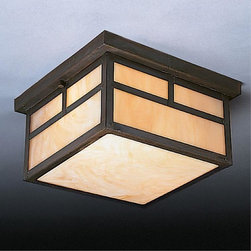 Kichler Lighting - Kichler Lighting - 9825CV - La Mesa - Two Light Flush Mount - Bulb Not Included