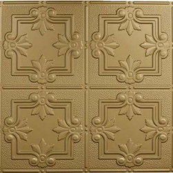 Decorative Ceiling Tiles - Faux Tin Wall & Ceiling Panel - 24x48 - #DCT 0321 - Find copper, tin, aluminum and more styles of real metal ceiling tiles at affordable prices . We carry a huge selection and are always adding new style to our inventory.