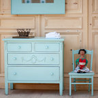 Alice's Tall Dollhouse Bookcase - Traditional - Kids Bookcases - other metro - by Sweet Elle