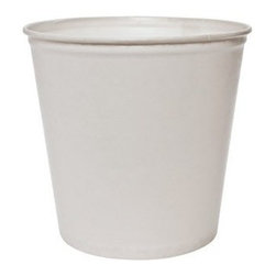 SOLO CUP - Waxed Double Wrapped Food Buckets 165 Oz White 100 - CAT: Foodservice food containers and lids buckets