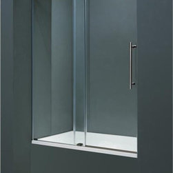 Vigo - VIGO VG6041CHCL6066 Tub Door Hardware - Make your bathroom an oasis with a VIGO frameless tub door.