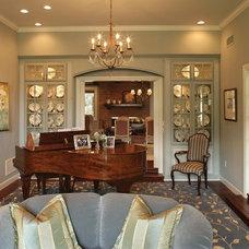 Traditional Living Room by Ernesto Garcia Interior Design, LLC