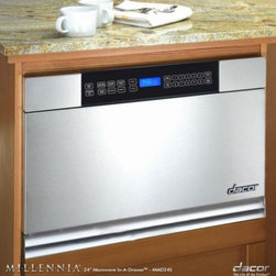 """Dacor - MMD24S Discovery 24"""" Built-in Microwave In-A-Drawer with 1.0 cu. ft. Capacity  9 - The MMD24 24 microwave drawer comes with a total capacity of 10 cu ft The 950 Watt ensures you have enough power to heat almost everything"""