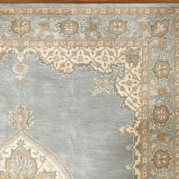 Mia Persian-Style Rug - If you had a magic carpet that flew, where would you let it take you? This beautiful Persian rug is a good place to start dreaming.