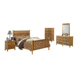 Tropical Bedroom Furniture Sets Tropical Bedroom Set Shipping Note This 5 Piece Bedroom Set Ships
