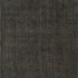 Continental Rug Company - Shag Rug 9' x 12', Grey - The Cloud Collection is a selection of super soft, super plush shag rugs.  These 100% microfiber polyester shags are hand made in China in several trendy solid colors as
