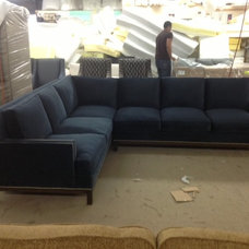 Transitional Sectional Sofas by Monarch Sofas