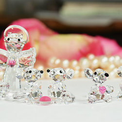 """Crystal Gifts 'With Love"""" - Crystal gifts are lasting representations of the love you share. Why not bestow the finest? InvitingHome.com offers an array of magnificently designed crystal pieces. One precious gift of crystal figurine could become the cherished inaugural piece in an incipient crystal collection destined to become an heirloom"""