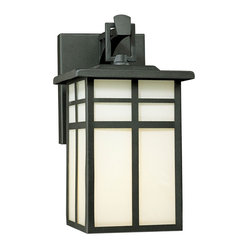 Mission Black Outdoor Wall Sconce