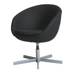 IKEA of Sweden - SKRUVSTA Swivel chair - Swivel chair, Alme black