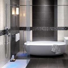 contemporary bathroom tile by Designer Tile Plus