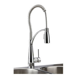 Elkay - Single Lever Pre-Rinse Faucet - Product height: 2.76. Product min width: 11.02. Product depth: 27.56 sgl lvr pre-rinse fct cra brilliant mixture of upscale design and commercial integrity. Avado commands attention. The modern aesthetic delivers impact on every detail and precision in its strong lines. Avado semi-professional kitchen faucet 14 gauge.