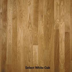 White Oak  |  Unfinished -