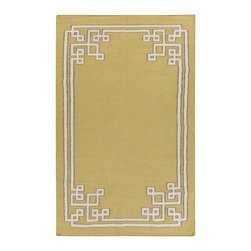 Surya - Surya Alameda Hand Woven Tan Wool Rug, 8' x 11' - Enjoy this Surya rug in your home. Imported.Material: 100% WoolCare Instructions: Blot Stains
