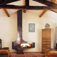 Contemporary Fireplaces by focus-creation.com