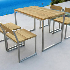 Modern Outdoor Pub And Bistro Sets by Viesso
