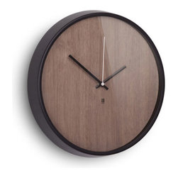 Time Grain Wall Clock - The Time Grain Wall Clock is modern simplicity at its finest. Whether you hang it in your home office or in your busy kitchen, its neutral tones and sleek design won't distract from its surroundings.