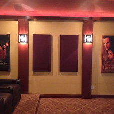 Traditional Home Theater by Next Electronic Systems, Inc