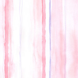 Pink Wavy Stripes - LW26414 - Collection:Cheeky Monkeys
