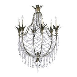 "Cyan Design - Cyan Design 6492-6 39.5"" Six Lamp Chandelier Luciana Collection - 39.5"" Six Lamp Chandelier from the Luciana CollectionBeautiful Objects for Beautiful Lives. Cyan Design is the source for unique decorative objects. Decorative accessories for the most vibrant interior design. Over 2,100 designer accessories that are in stock and typically ship within 24 hours. Cyan Design continuously updates our product line of ornamental objects, stunning glass vases, garden and patio objects, embellished frames, mirrors, wall decor and a vast collection of the finest lighting fixtures. Home remodelers, interior designers, decorators, and independent retail customers all rely on Cyan Design."