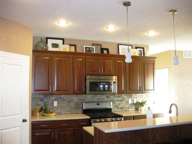 Frames in kitchen.JPG