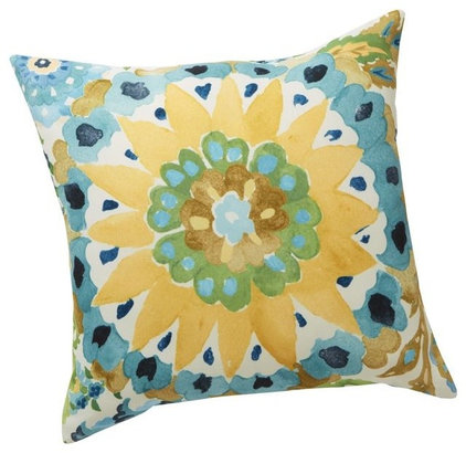 Contemporary Outdoor Pillows by Pottery Barn