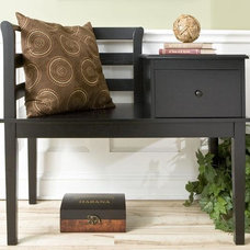 Traditional Upholstered Benches by Home Decorators Collection