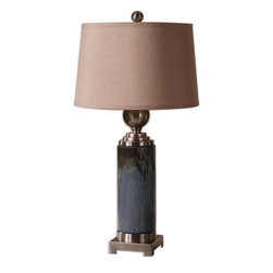 Uttermost - Uttermost 26441 Montagano 1 Light Table Lamp - Features: