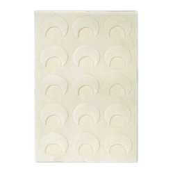 Shearling Basics Crescents Area Rug, 5.5 x 8