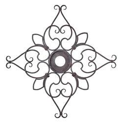 Quorum International - Quorum 7-2143-44 Ornate C Medallion - Ts - Quorum 7-2143-44 Ornate C Medallion - Ts