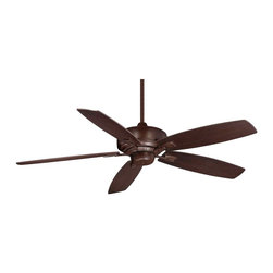 "Savoy House Lighting - Savoy House Lighting SVH-52-830-5RV-129 Wind Star 52"" Transitional Ceiling Fan - This eye-catching fan has sleek details that add the finishing touch to all of today's interiors. The rich Espresso finish is elegant and perfectly complemented by Walnut blades."
