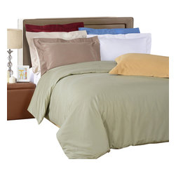 "Bed Linens and More - Egyptian Cotton 1000 Thread Count Stripe Duvet Cover Sets King/Cal-King Taupe - The definition of luxury, at an affordable price! Boasting a smooth, 1000 Thread Count in pure Egyptian cotton sateen, this duvet set makes every night an indulgence. These 1000 thread count duvets of premium long-staple cotton are ""sateen"" because they are woven to display a lustrous sheen that resembles satin."