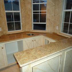 kitchen remodel - www.istonefloors.com